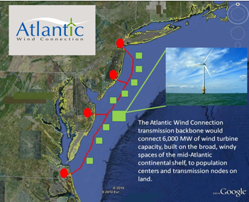 Proposed Wind Farm Locations